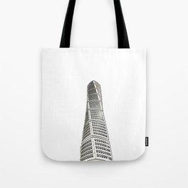 Architecture: Turning Torso Tote Bag
