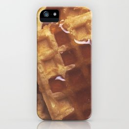 Waffles With Syrup iPhone Case