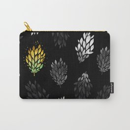 -Only few are gold- on black Carry-All Pouch