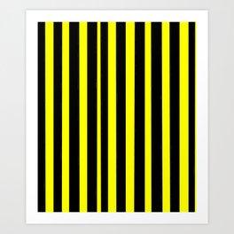 Strips 6-line,band,striped,zebra,tira,linea,rayas,rasguno,rayado. Art Print