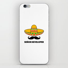 Senior Developer iPhone Skin