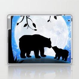 Moon and bears Laptop & iPad Skin