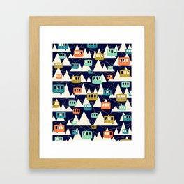 Alpine Wonderland Framed Art Print