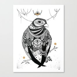Bird Women 2 Canvas Print