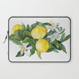 lemon tee Laptop Sleeve