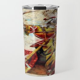 Knight At Tournament Travel Mug