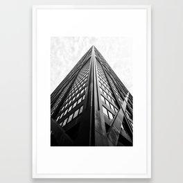 John Hancock Tower Framed Art Print