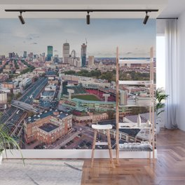 Boston City Wall Mural
