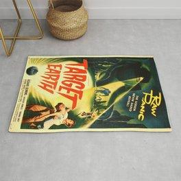 Vintage poster - Target Earth Rug
