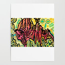 art fear painting Poster
