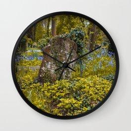 Tombstone in Highgate Wall Clock