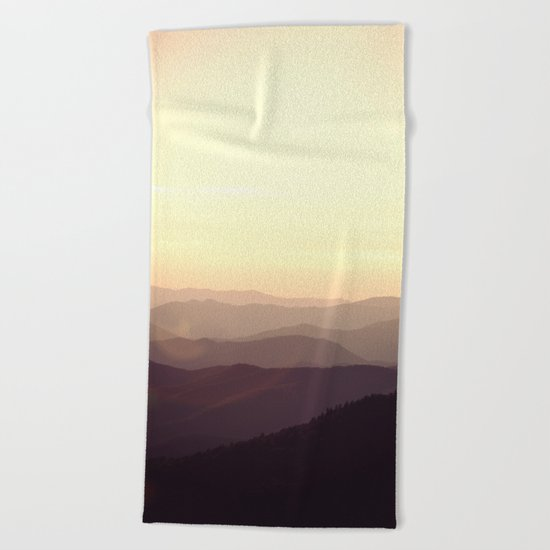 Smokier Mountain Beach Towel