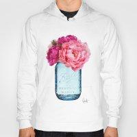 rose Hoodies featuring Perfect Mason  by Xchange Art Studio