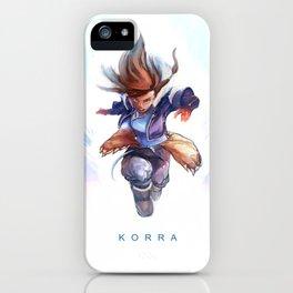 K O R R A iPhone Case