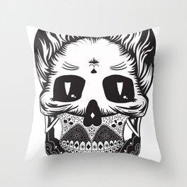 Calavera Throw Pillow