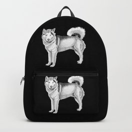 Alaskan malamute Backpack