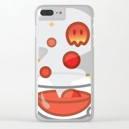 Lava Tea Clear iPhone Case