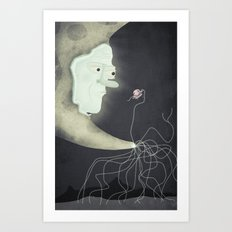 you never know who you'll meet in your dreams Art Print
