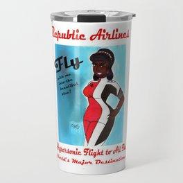 Miriyum of Republic Airlines Travel Mug