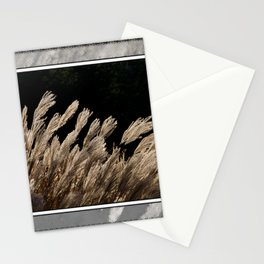 YAKU JIMA GRASS IN BACKLIT SUN Stationery Cards