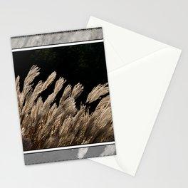 YAKU JIMA GRASS IN BACKLIT SUN Stationery Cards