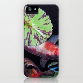Under The Lily Pad iPhone Case