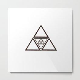 Spiritual Equanimity 08 (Symbolism) Metal Print