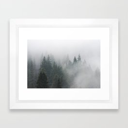 Long Days Ahead - Nature Photography Framed Art Print