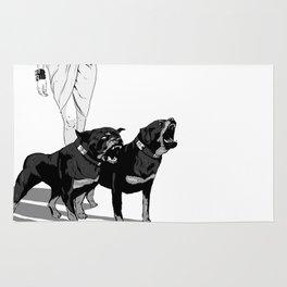 Fashion Rottweiler  Rug