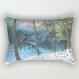 Winter Woodland Rectangular Pillow