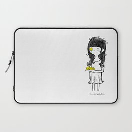Lemon Squeeze by Sarah Pinc Laptop Sleeve
