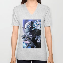 Battle of the Mechs Unisex V-Neck