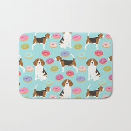 Beagle donuts cute gifts for pure breed dog lover beagles owners Bath Mat