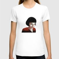 amelie T-shirts featuring Amelie by Jon Cain