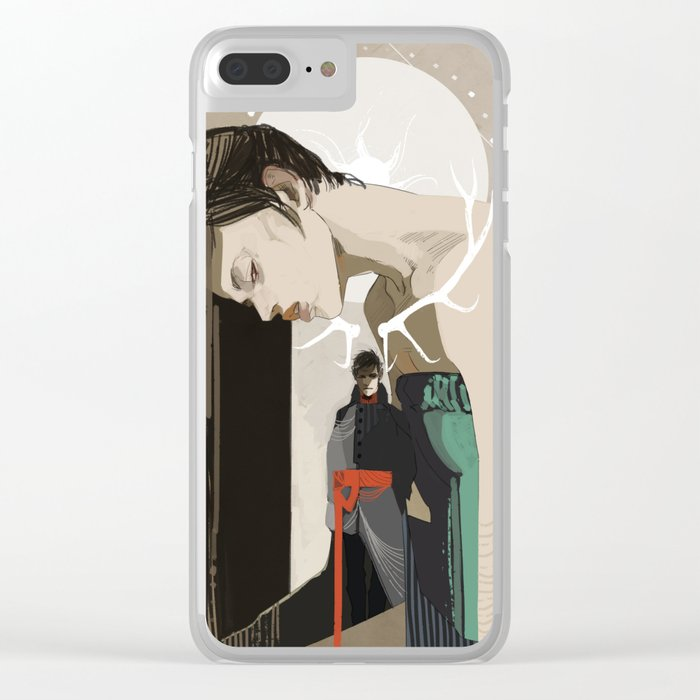 Betrayal Clear iPhone Case