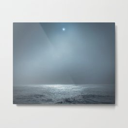 Ocean Spotlight Metal Print