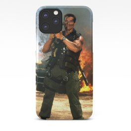 COMMANDO11 iPhone Case
