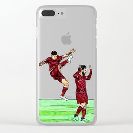 Bobby and Mo Clear iPhone Case