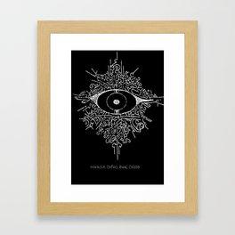 """Horacio, Orfeo, Baal, Cristo"" Framed Art Print"