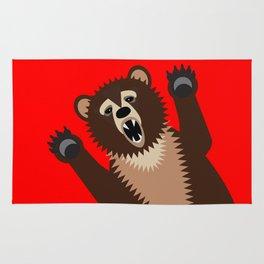 The Bear Says Boo Rug