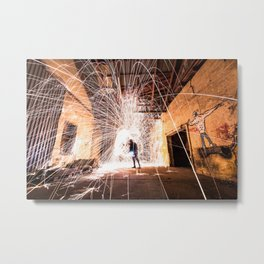 Urban lightning Metal Print