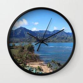 CLIFFS & CORAL Wall Clock