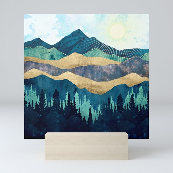 Blue Forest by spacefrogdesigns