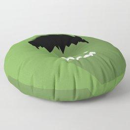 Hulk Flat design Floor Pillow