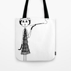 Her new cloche hat Tote Bag
