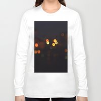 bokeh Long Sleeve T-shirts featuring Bokeh by KoshoyBM