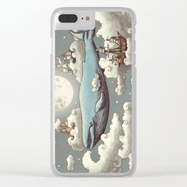 Ocean Meets Sky Clear iPhone Case