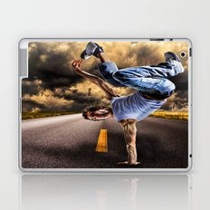 Break dance Laptop & iPad Skin