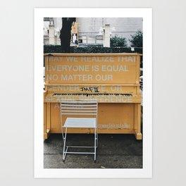 Art for Equality Art Print