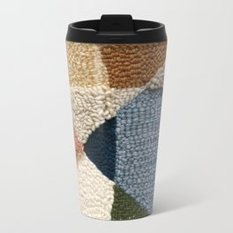 Interests Collide Rug Hooked Art Metal Travel Mug